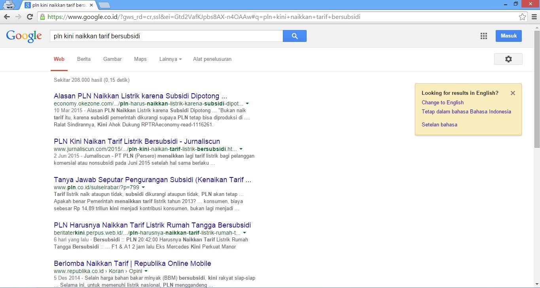 cara agar artikel ke indeks google