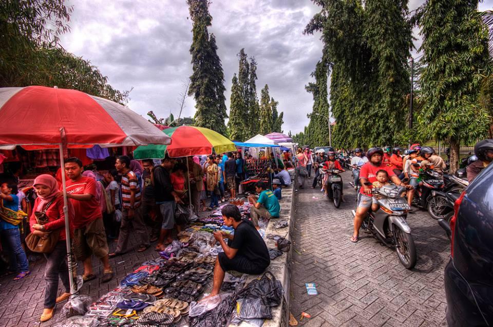 Pasar Minggu di Kota Baru Jambi