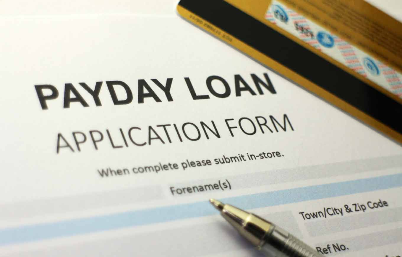 Payday loan credit score