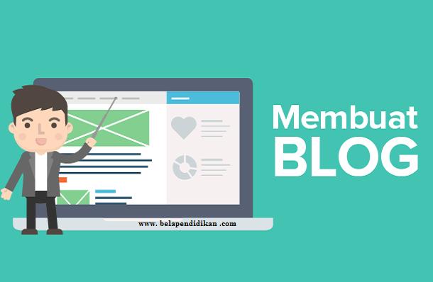 langkah langkah yang harus dilakukan saat membuat blog baru