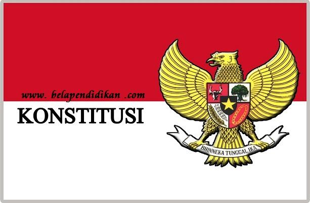 konstitusi di indonesia