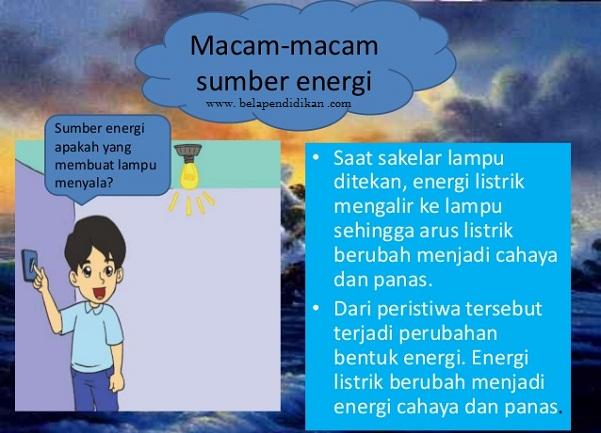 macam macam sumber energi