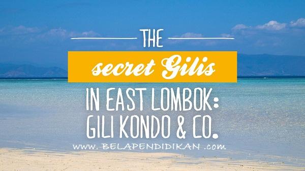 wisata air gili kondo yang terletak di seberang timur lombok