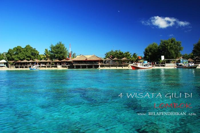 4 gili paling cantik yang ada di lombok