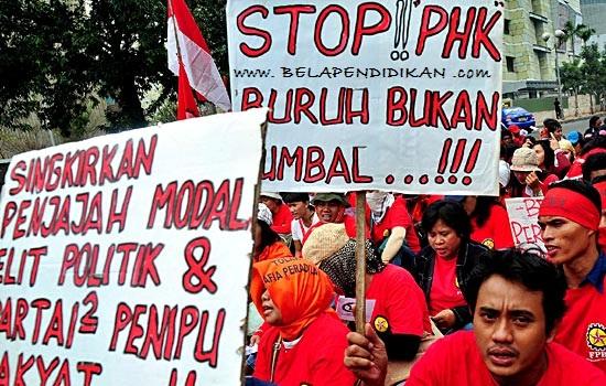 hukum politik perburuhan di indonesia