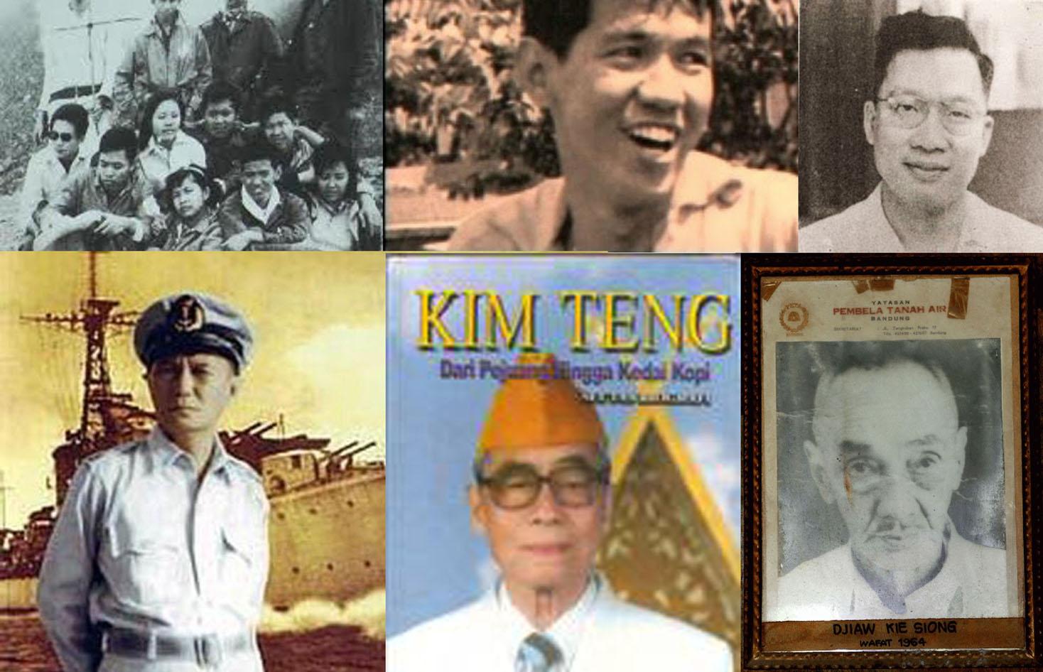 pejuang pejuang Indonesia berdarah Tionghoa