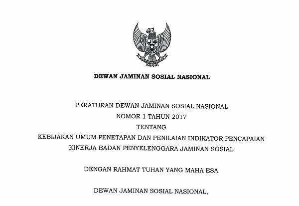 Peraturan Dewan Jaminan Sosial Nasional
