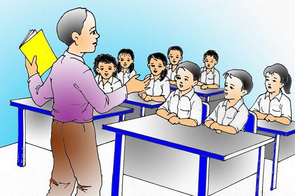 Guru harus mempunyai semangat dalam mendidik siswa siswanya