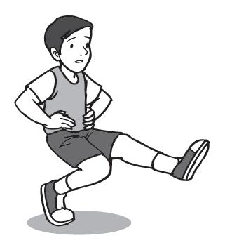 latihan keseimbangan berdiri satu kaki