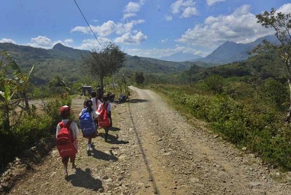 Pendidikan didaerah perbatasan Indonesia