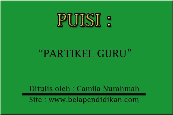 Puisi Partikel Guru