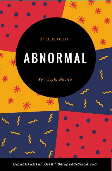 Cerpen : Abnormal