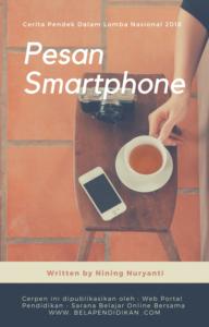 Pesan dari smartphone