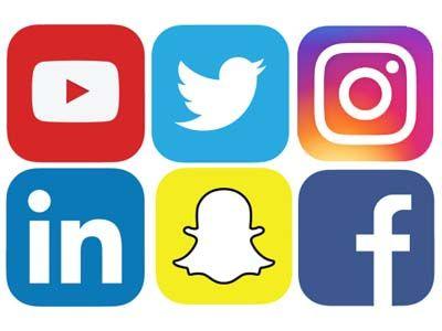 Applikasi sosial media pada smartphone