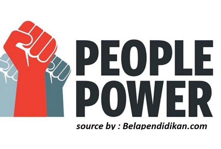 people power merupakan sebuah solusi