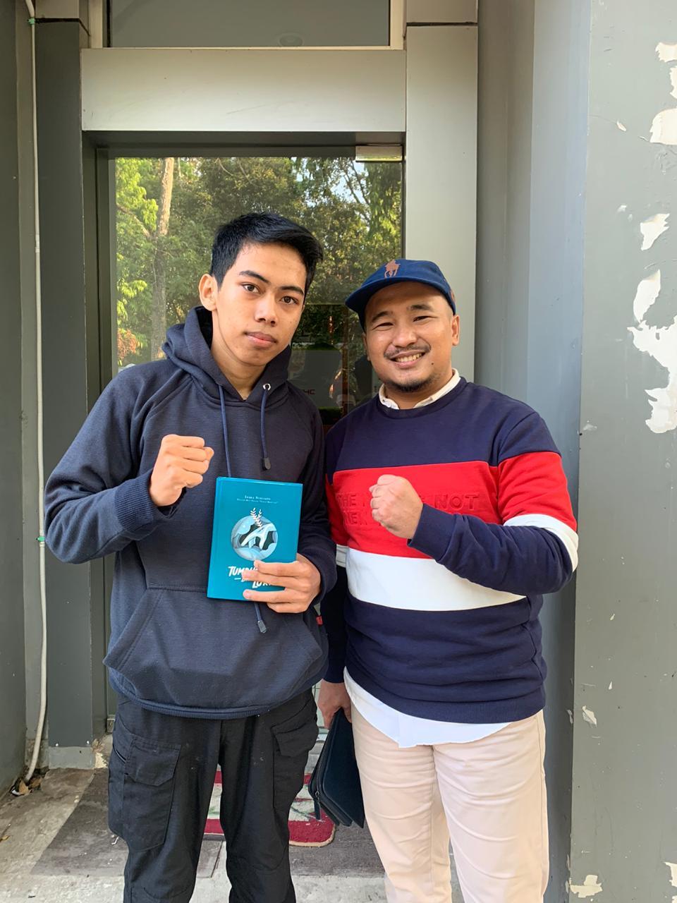 Aslan dan Indra Sugiarto (Ceo Founder MasukKampus)