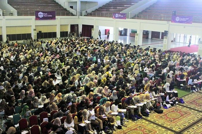 masukkampus padang sukses dan meriah diadakan di auditorium universitas andalas