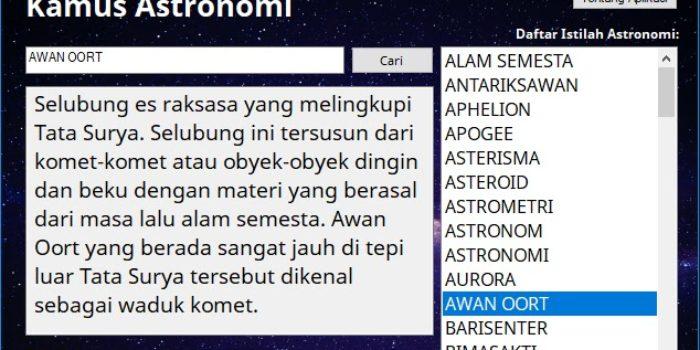 istilah istilah dalam kamus astronomi