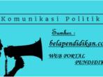 definisi komunikasi politik