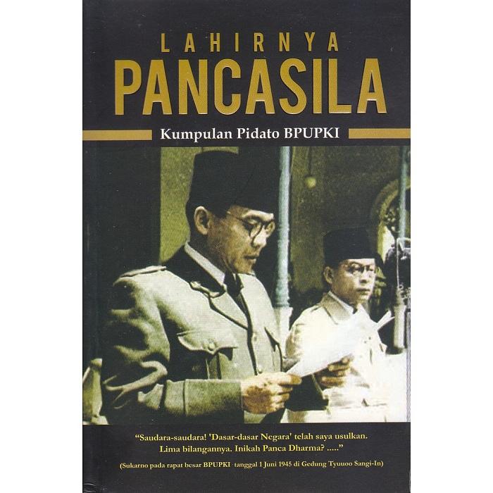 Buku Sejarah Lahirnya Pancasila