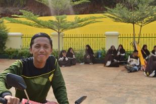 Iman Rohiman, siswa MAN Asal Ciamis