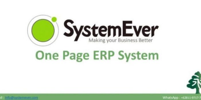 SystemEver Software Cloud ERP Indonesia