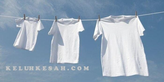 cara memutihkan baju putih agar menjadi cemerlang