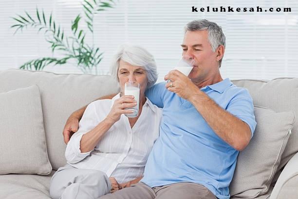 manfaat minum susu anlene untuk manula