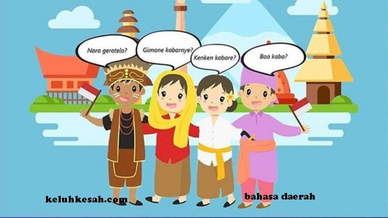 Macam macam budaya di Indonesia : Bahasa Daerah