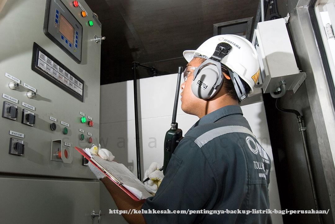 pentingnya backup listrik bagi perusahaan