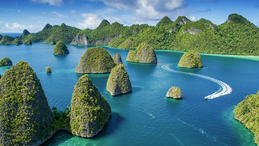 Pulau Raja Ampat Papua