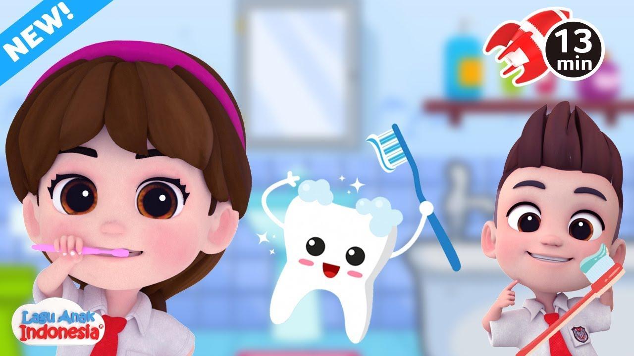 gunakan kartun dan video dalam mengajarkan anak sikat gigi