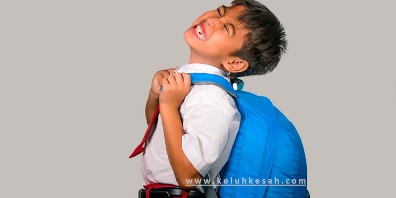 Beban tas ransel terlalu berat