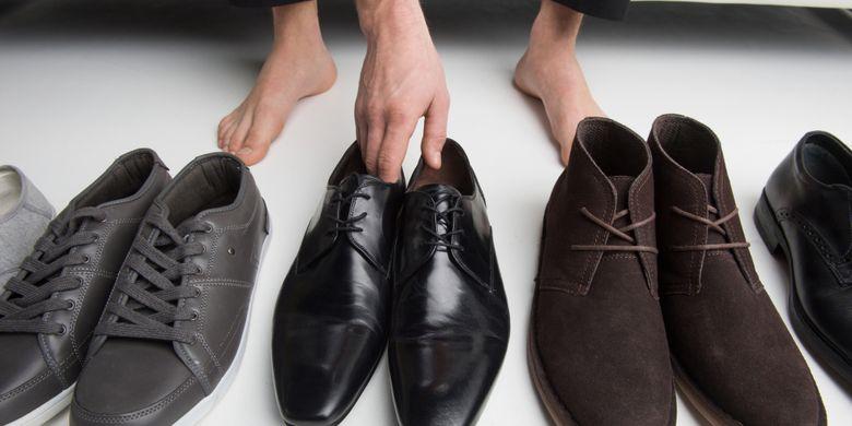 Ukuran sepatu tidak tepat