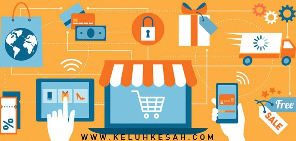 Sebar produk penjualan di marketplace