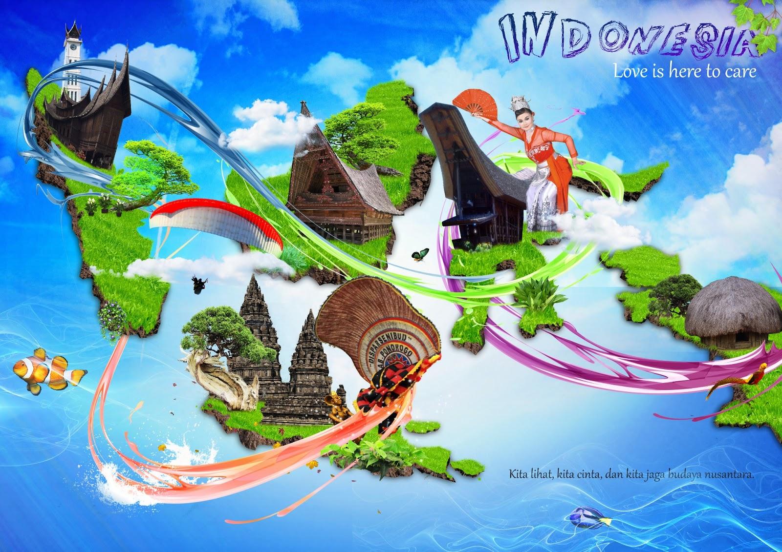 contoh budaya yang ada di indonesia