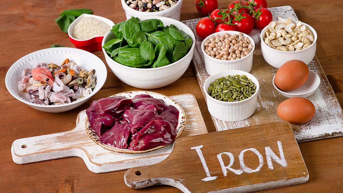 Makanan yang mengandung zat besi, cocok untuk wanita yang mengalami pms